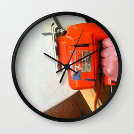 Jig saw Wall Clock