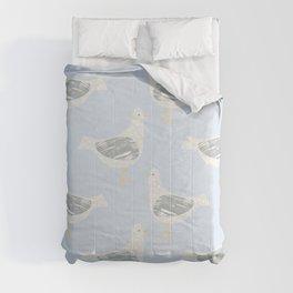 Standing Gulls - Beachy Colourway Comforters