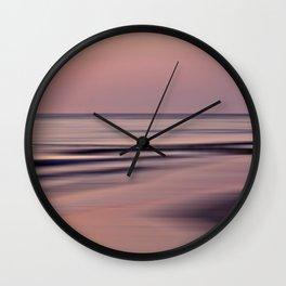 purpura - seascape no.18 Wall Clock