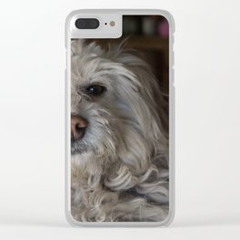 Juanito Clear iPhone Case