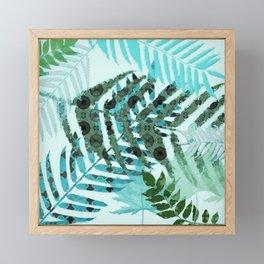 Forest Fern Framed Mini Art Print