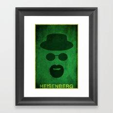 Breaking Bad - Heisenberg Framed Art Print