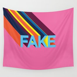 FAKE Wall Tapestry