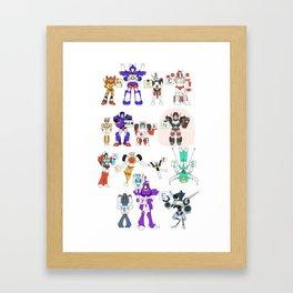 MTMTE S1 Cast Framed Art Print