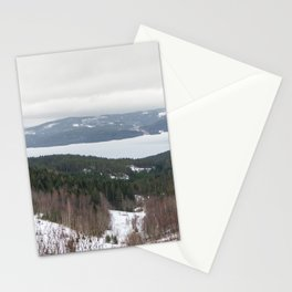Lakeview in Norway Stationery Cards