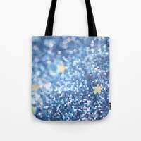 night sky Tote Bags featuring Night Sky by Elizabeth