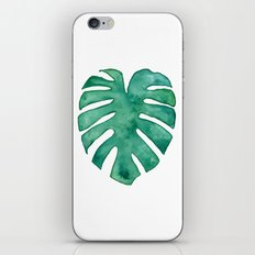 Monstera Leaf iPhone & iPod Skin