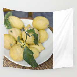 when life hands you lemons::cinque terre, italy Wall Tapestry