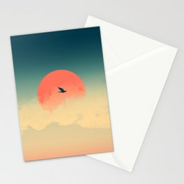 Lonesome Traveler Stationery Cards