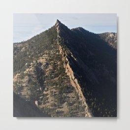 Sacred Cliffs Metal Print