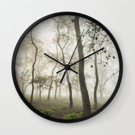 Chitwan national park forest Wall Clock