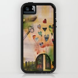 Hearts Door iPhone Case