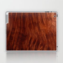 Beautiful Unique mahogany red wood veneer design Laptop & iPad Skin