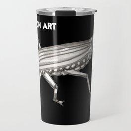 Buggin on Art Travel Mug