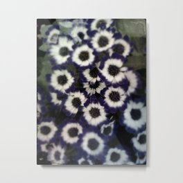 Ghostly Gardens Mourning Blues Metal Print