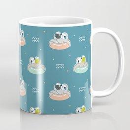 Beer Sloth Pattern Coffee Mug
