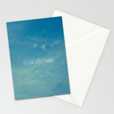 It's The Little Things Stationery Cards