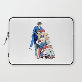 Members of Bangtan Boys (BTS) Laptop Sleeve