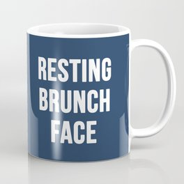 Resting Brunch Face Coffee Mug