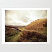 ruben ireland Art Prints featuring Ireland. by Ashley Jensen