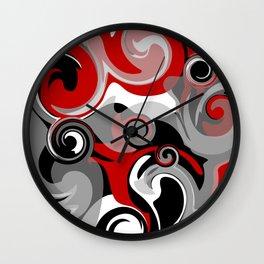 Turbulence Wall Clock