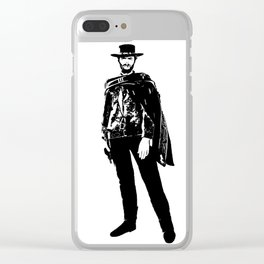Man With No Name Clear iPhone Case
