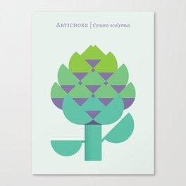 Vegetable: Artichoke Canvas Print