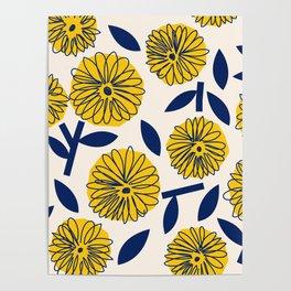 Floral_blossom Poster