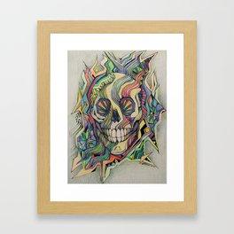 Death Dreams Framed Art Print