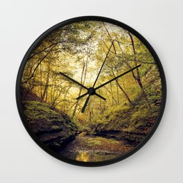 Mantra of Autumn Wall Clock