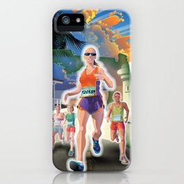 Fort Lauderdale A1A Marathon iPhone Case