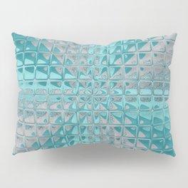 Aqua Reflections Pillow Sham
