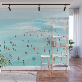 Hot Summer Day #painting #illustration Wall Mural