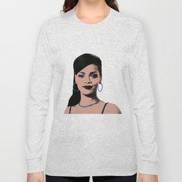 Rihanna Pop Art Long Sleeve T-shirt
