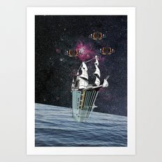 atmosphere 36 · Spring in Space Art Print