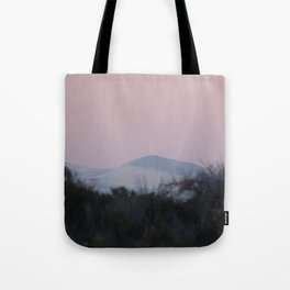 Sunset and Sand Dune Tote Bag