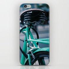 Riding Backwards iPhone & iPod Skin