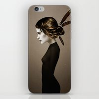 city iPhone & iPod Skins featuring This City (Alternative) by Ruben Ireland