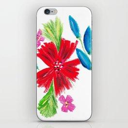 Vintage Floral Spray iPhone Skin