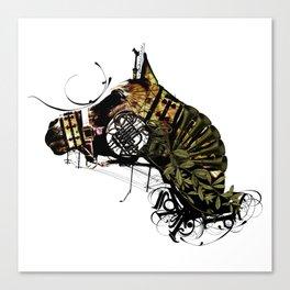 HORSEHEAD MASK Canvas Print