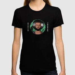 """Dexter Jordan """"Green Moon"""" T-shirt"""