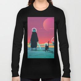 PHAZED PixelArt 6 Long Sleeve T-shirt