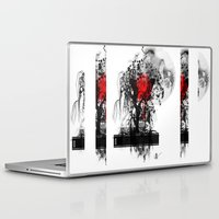 japan Laptop & iPad Skins featuring Japan by Annabelle Vauvrecy