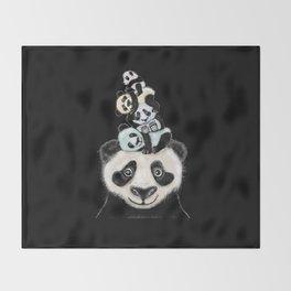 Panda Totæm Throw Blanket