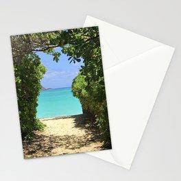 Lanikai Beach Stationery Cards
