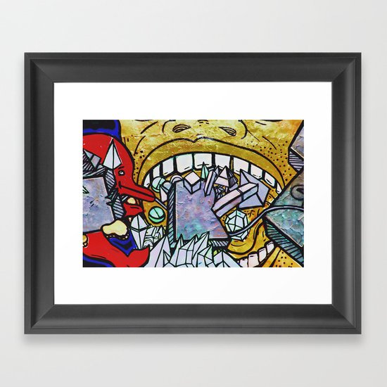 Graffiti II Framed Art Print