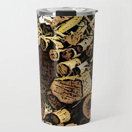 Wood Pile bywhacky Travel Mug