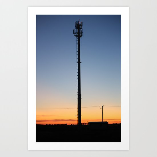 Tower in the Sky Art Print