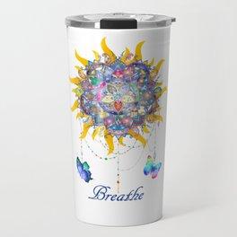 Breathe Mandala Travel Mug