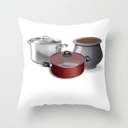 Pot Session Throw Pillow